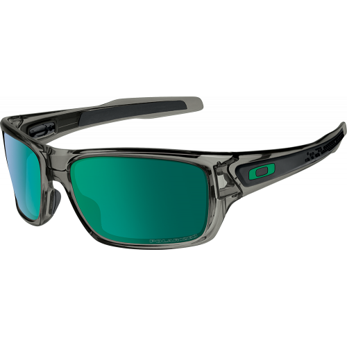 c4c2bf3c392e8c Oakley Turbine Grey Smoke Jade Iridium Polarized - Oakley Sunglasses