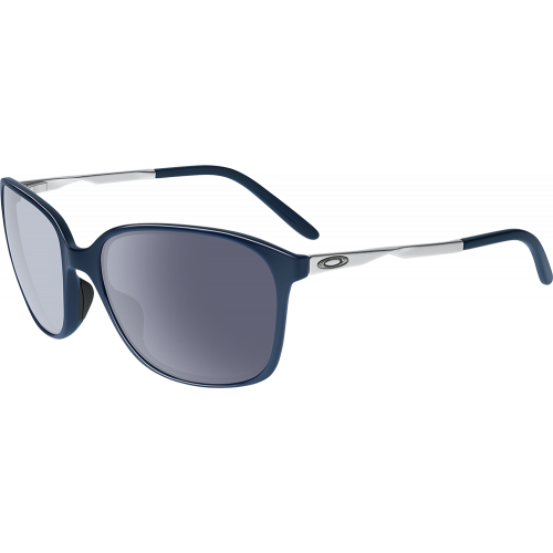 Women's Sunglasses Oakley Game Changer Polished Navy Grey