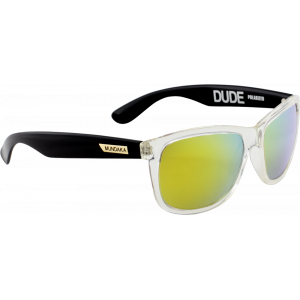 Mundaka Dude Transparent/Noir Gold Revo