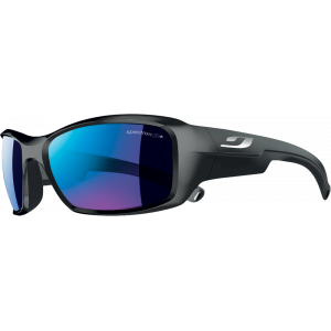 Julbo Rookie Shiny Black Spectron 3 Grey Blue Mirror