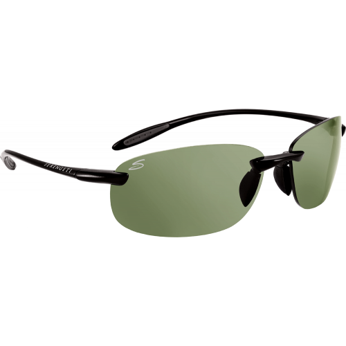 Serengeti Nuvino Shiny Black Polarized PhD CPG