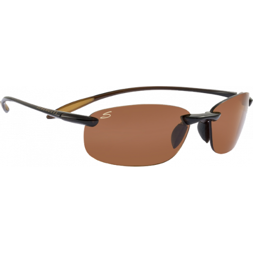 Serengeti Nuvola Shiny Brown Polarized PhD Drivers
