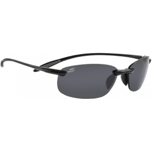 Serengeti Nuvola Shiny Black Polarized PhD CPG