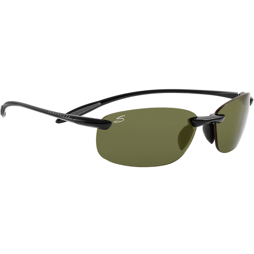 Serengeti Nuvola Shiny Black Polarized PhD 555nm
