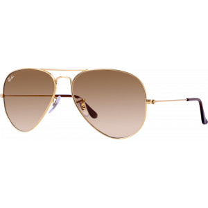 Ray-Ban Aviator Arista Brown Gradient