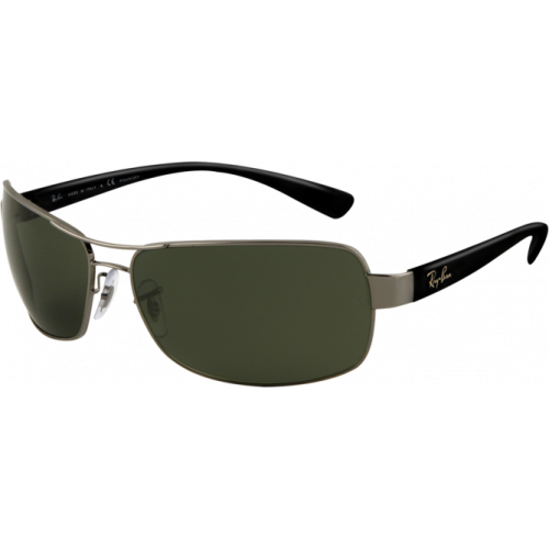 Ray-Ban RB3379 Gunmetal/Green Polarized