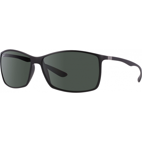 Ray-Ban RB4179 Liteforce Matte Black Green Polarized