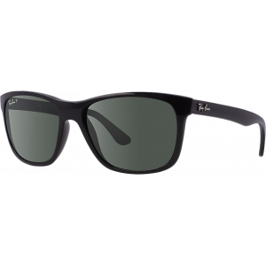 Ray-Ban RB4181 Shiny Black Green Polarized
