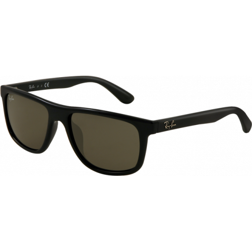 Ray-Ban RJ9057S Shiny Black Grey Green