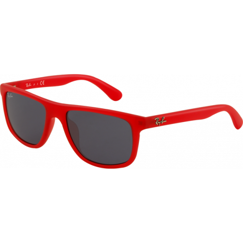 Ray-Ban RJ9057S Red Demi Shiny Blue