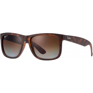 Ray-Ban Justin Rubber Havana Brown Gradient Polarized