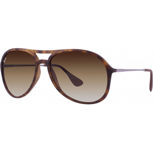 Ray-Ban Alex Rubber Havana Brown Gradient
