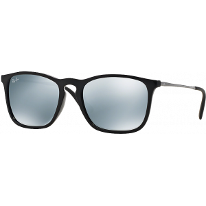 Ray-Ban Chris Black Grey Silver Mirror