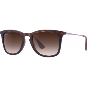 Ray-Ban RB4221 Rubber Havana Brun Dégradé