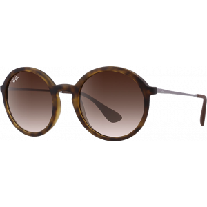Ray-Ban RB4222 Rubber Havana Brun Dégradé