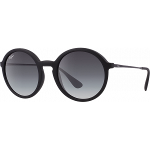 Ray-Ban RB4222 Rubber Black Gris Dégradé