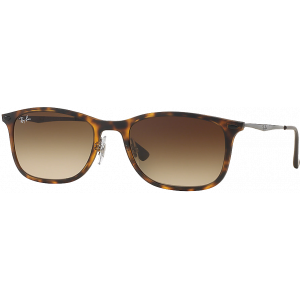 Ray-Ban New Wayfarer Light Ray Tabac Mat Brun Dégradé