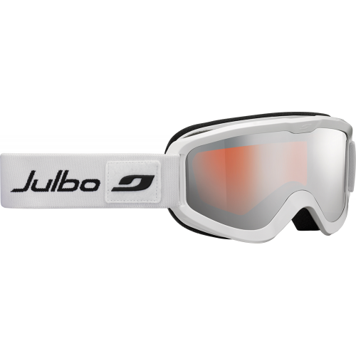 Julbo Masque de ski Eris Blanc Orange Flash Argent