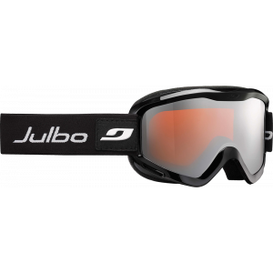 Julbo Masque de ski Plasma OTG Noir Spectron 3 Orange Flash Argent