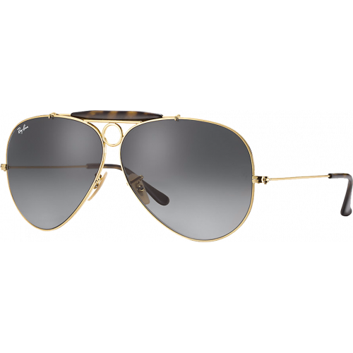 Ray-Ban Aviator Shooter Gold/Havana Grey Gradient
