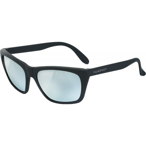 408bea83b73 Vuarnet 06 Matte Black Pure Grey Silver Flash - EyeShop