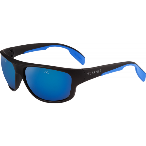 da692923c7b Vuarnet Racing Large Matte Black Blue Pure Green Blue Flash - EyeShop