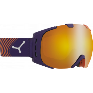 Cebe Masque de ski OTG Origins M Violet/Orange Flash Fire