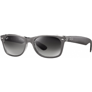 Ray-Ban New Wayfarer Gunmetal/Transparent Gris Dégradé