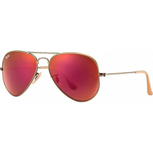 lunette ray ban verre rouge