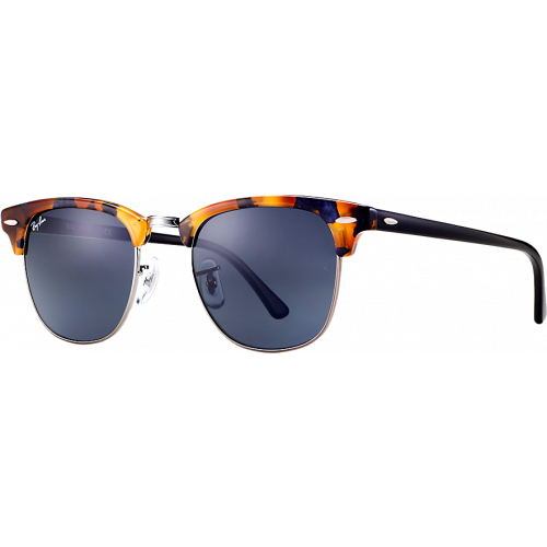 Ray-Ban Clubmaster Fleck Spotted Blue Havana Gris