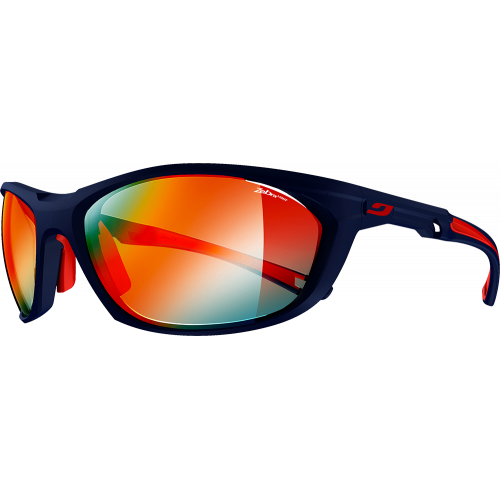 Julbo Speed Race 2.0 Matte Blue/Red Zebra Light Fire