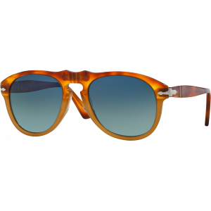 Persol 0649 Small Vintage Celebration Resina e Sale Bleu Dégradé Polarisé