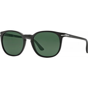 Persol 3007S Matte Black Green Polarized