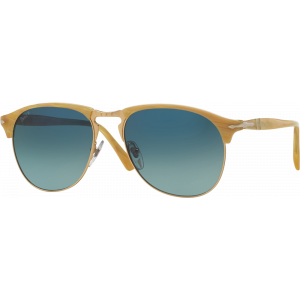 Persol 8649S Medium Light Horn Bleu Dégradé Polarisé