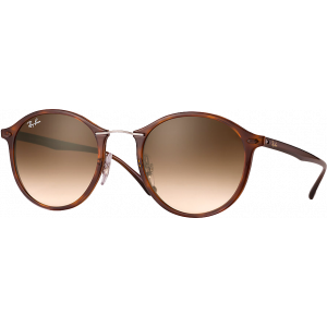 Ray-Ban Round Light Ray Havana Brown Gradient
