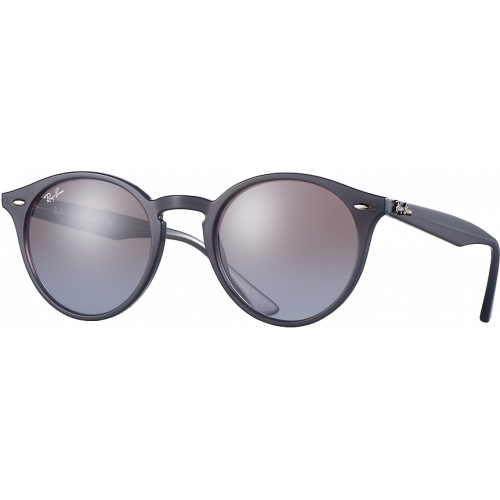 Ray-Ban RB2180 Medium Gris Violet Dégradé Miroité