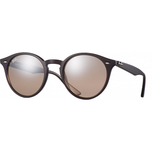 Ray-Ban RB2180 Medium Marron Brun Dégradé Miroité