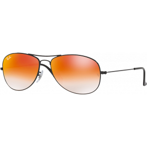 Ray-Ban Cockpit Noir Orange Dégradé Miroité