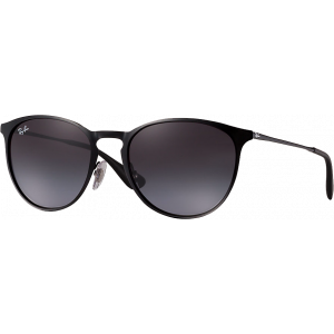 Ray-Ban Erika Metal Black Grey Gradient
