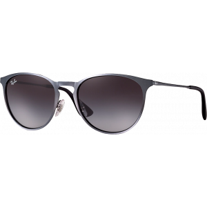 Ray-Ban Erika Metal Grey Grey Gradient