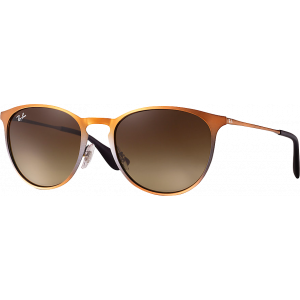 Ray-Ban Erika Metal Brown Brown Gradient