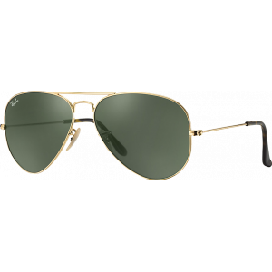 Ray-Ban Aviator Havana Collection Doré/Ecaille G-15 XLT