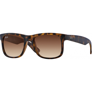 Ray-Ban Justin Rubber Havana Brown Gradient