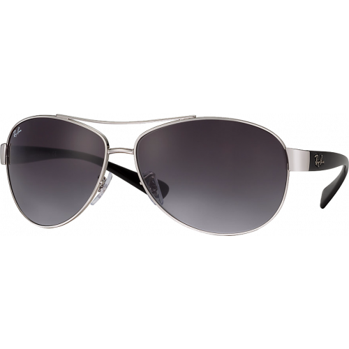 Ray-Ban RB3386 Silver Grey Gradient