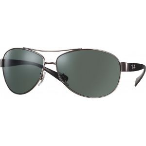 Ray-Ban RB3386 Gunmetal Grey Green