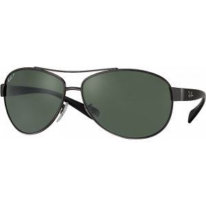 Ray-Ban RB3386 Gunmetal Green Polarized