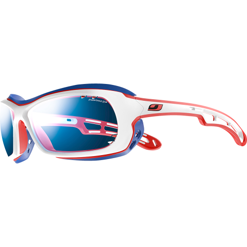 bc9c6625b2 Julbo Wave White Blue Red Polarized 3+ Grey - Julbo Sunglasses