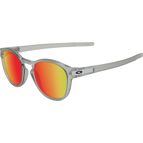 bb40416b79 Oakley Latch Matte Grey Ink Ruby Iridium - Oakley Sunglasses