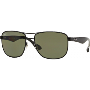 Ray-Ban RB3533 Black Green Polarized