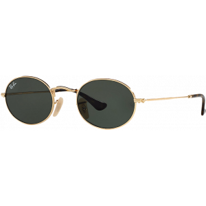Ray-Ban Oval Flat Gold G-15 XLT